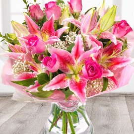 Flower Bouquet Pink Dream